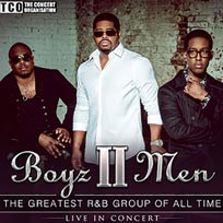 Boyz II Men at Hammersmith Apollo on Sunday 7th April 2019