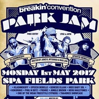 Breakin' Convention Park Jam 2017 at Spa Fields Park on Monday 1st May 2017