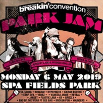 Breakin' Convention Park Jam at Spa Fields Park on Monday 6th May 2019