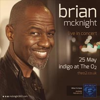 Brian McKnight at Indigo2 on Saturday 25th May 2019
