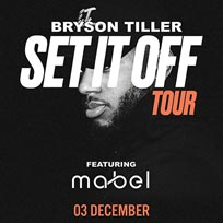 Bryson Tiller at Hammersmith Apollo on Sunday 3rd December 2017