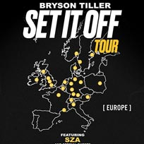 Bryson Tiller at Hammersmith Apollo on Monday 27th November 2017