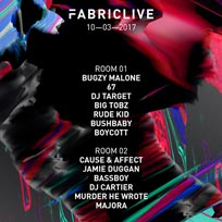 Bugzy Malone + 67 at Fabric on Friday 10th March 2017