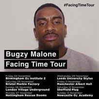 Bugzy Malone at Village Underground on Sunday 6th November 2016