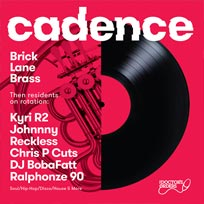 Cadence at Ninety One (formerly Vibe Bar) on Friday 15th December 2017