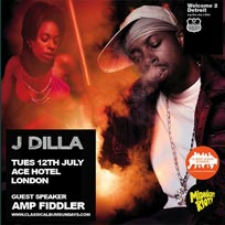 J Dilla - Welcome 2 Detroit at Ace Hotel on Tuesday 12th July 2016