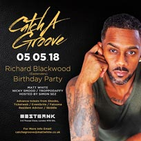 Catch A Groove at Westbank on Saturday 5th May 2018