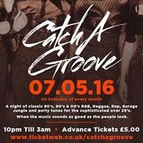 Catch-a-Groove at Westbank on Saturday 7th May 2016