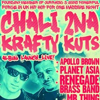 Chali 2na & Krafty Kuts Album Launch at Electric Brixton on Friday 11th May 2018