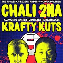 Chali 2na + Krafy Kuts at Archspace on Monday 30th October 2017