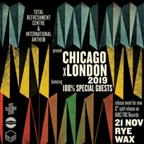 100% Special Guests at Rye Wax on Thursday 21st November 2019