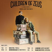 Children of Zeus at EartH on Thursday 23rd May 2019