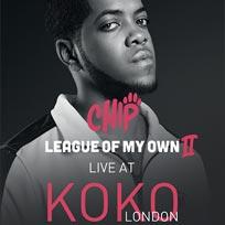 Chip at KOKO on Thursday 28th September 2017