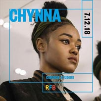 Chyyna at Corsica Studios on Friday 7th December 2018