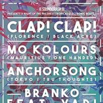 Clap! Clap! at Shapes on Saturday 28th May 2016