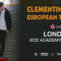 Clementino at Islington Academy on Monday 24th June 2019