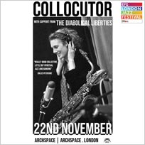 Collocutor at Archspace on Thursday 22nd November 2018