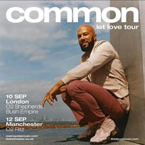 Common at Shepherd's Bush Empire on Tuesday 10th September 2019