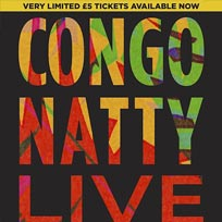 Congo Natty at The Forum on Saturday 27th April 2019