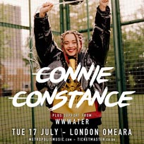 Connie Constance at Omeara on Tuesday 17th July 2018