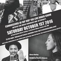 Connoisseurs Of Hip Hop at Reel Rebels Music Studios on Saturday 1st October 2016