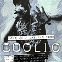Coolio at Underworld on Sunday 9th June 2019