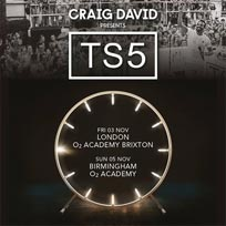 Craig David Presents Ts5 at Brixton Academy on Friday 3rd November 2017