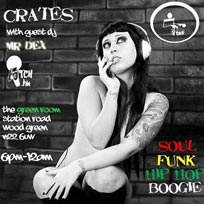 Crates Fridays at Green Rooms on Friday 24th February 2017