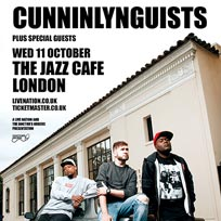 CunninLynguists at Jazz Cafe on Wednesday 11th October 2017