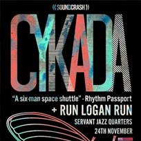 Cykada at Servant Jazz Quarters on Saturday 24th November 2018