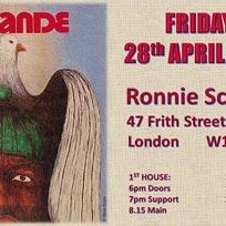 Cymande at Ronnie Scotts on Thursday 27th April 2017
