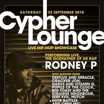 The Cypher Lounge  at The Windmill Brixton on Saturday 22nd September 2018