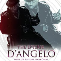 D'Angelo at Hammersmith Apollo on Tuesday 6th March 2018