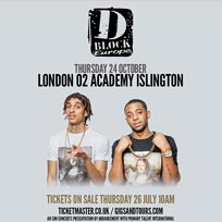D Block Europe at Islington Academy on Wednesday 24th October 2018