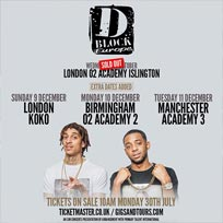 D Block Europe at KOKO on Sunday 9th December 2018