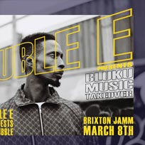 Bluku Music Takeover at Brixton Jamm on Friday 8th March 2019