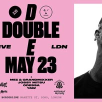 D Double E at Borderline on Thursday 23rd May 2019