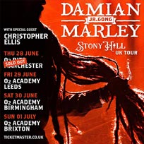 Damian Marley at Brixton Academy on Sunday 1st July 2018