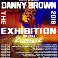 Danny Brown at Electric Brixton on Thursday 10th November 2016