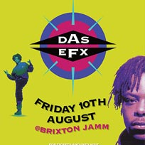 Das Efx at Brixton Jamm on Friday 10th August 2018