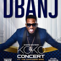 D'banj & the Compozers at Brixton Academy on Sunday 25th August 2019
