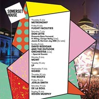 De La Soul at Somerset House on Saturday 14th July 2018
