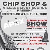 Ded Tebiase & Ash The Author at Chip Shop BXTN on Thursday 22nd August 2019