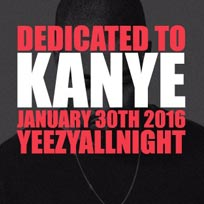 Dedicated to Kanye at Notting Hill Arts Club on Monday 30th January 2017