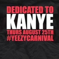 Dedicated to Kanye at Notting Hill Arts Club on Thursday 25th August 2016
