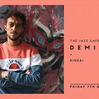 Demi Portion at Jazz Cafe on Friday 7th December 2018
