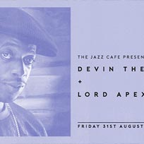Devin the Dude at Jazz Cafe on Friday 31st August 2018