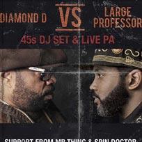 Diamond D vs Large Professor at Kamio on Saturday 19th November 2016