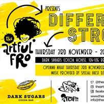 Different Strokes at Dark Sugars on Thursday 3rd November 2016