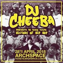 DJ Cheeba at Archspace on Saturday 28th April 2018